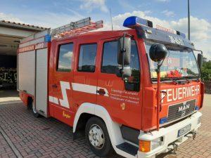 Read more about the article Einsatz 01-2021: Entstehungsbrand in Lüchow