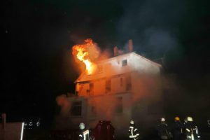 Einsatz 01-2020: Gebäudebrand in Lüchow (Alarmübung)