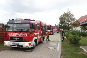 Einsatz 07-2020: Gemeldeter Schornsteinbrand in Woltersdorf