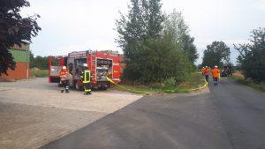 Einsatz 08-2019: Brandeinsatz mit vermissten Personen in Woltersdorf