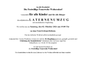 Read more about the article Laternenumzug 2021